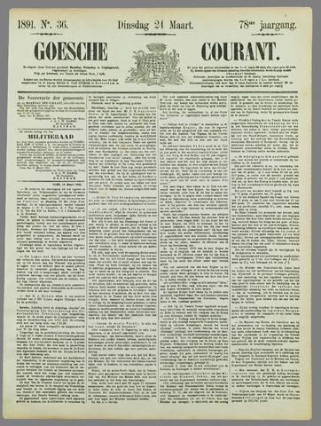Goessche Courant 1891-03-24