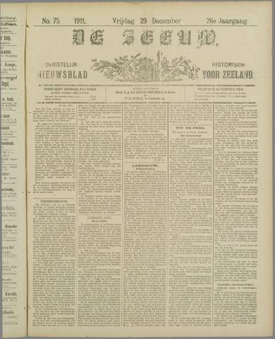De Zeeuw. Christelijk-historisch nieuwsblad voor Zeeland 1911-12-29