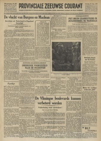 Provinciale Zeeuwse Courant 1951-08-28