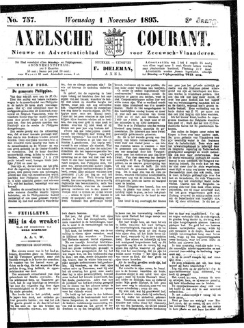 Axelsche Courant 1893-11-01