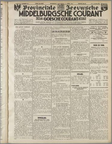 Middelburgsche Courant 1934-04-11