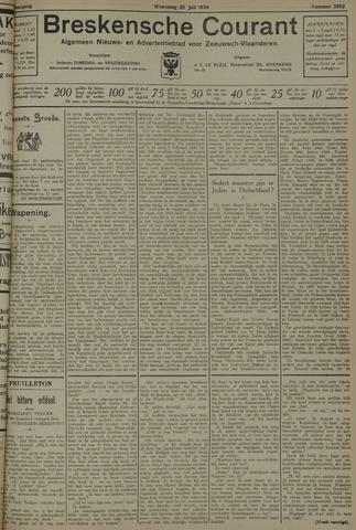 Breskensche Courant 1934-07-25