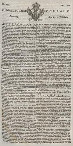 Middelburgsche Courant 1778-09-19