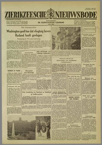 Zierikzeesche Nieuwsbode 1960-05-09