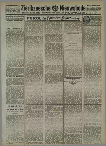Zierikzeesche Nieuwsbode 1930-02-03
