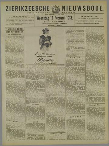 Zierikzeesche Nieuwsbode 1913-02-12