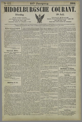 Middelburgsche Courant 1884-07-29