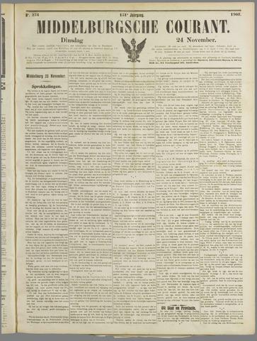Middelburgsche Courant 1908-11-24