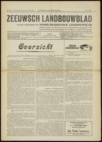 Zeeuwsch landbouwblad ... ZLM land- en tuinbouwblad 1953-02-14