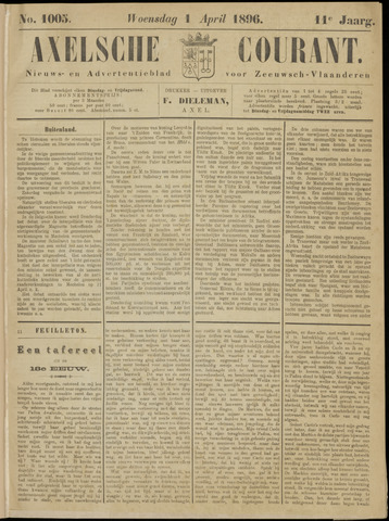 Axelsche Courant 1896-04-01