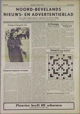 Noord-Bevelands Nieuws- en advertentieblad 1969-01-18