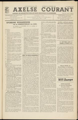 Axelsche Courant 1967-09-23