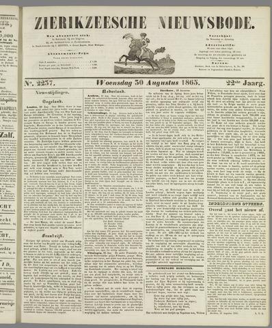 Zierikzeesche Nieuwsbode 1865-08-30
