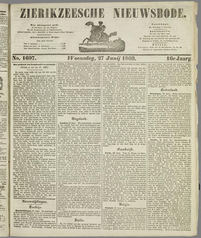 Zierikzeesche Nieuwsbode 1860-06-27
