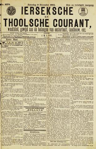 Ierseksche en Thoolsche Courant 1905-12-09