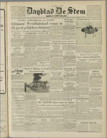 de Stem 1954-09-25