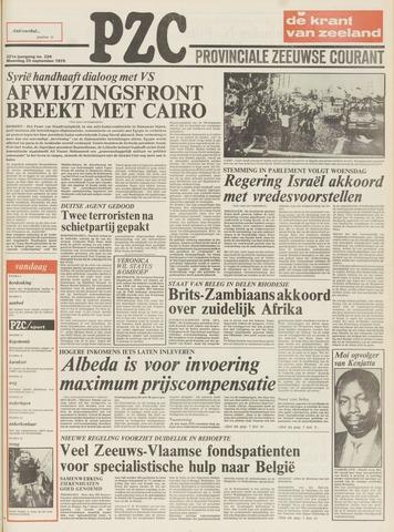 Provinciale Zeeuwse Courant 1978-09-25