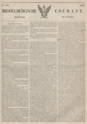 Middelburgsche Courant 1869-10-28