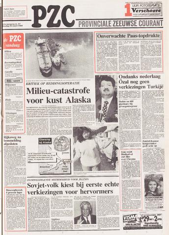 Provinciale Zeeuwse Courant 1989-03-28