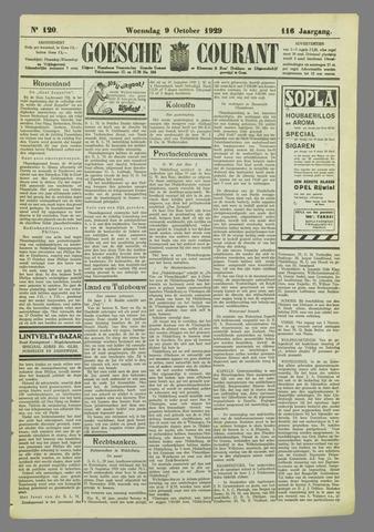Goessche Courant 1929-10-09