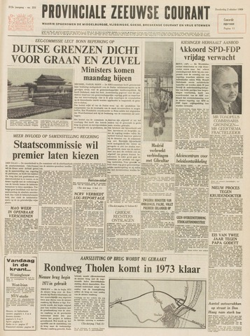 Provinciale Zeeuwse Courant 1969-10-02