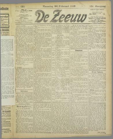De Zeeuw. Christelijk-historisch nieuwsblad voor Zeeland 1919-02-24