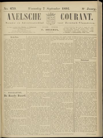 Axelsche Courant 1892-09-07