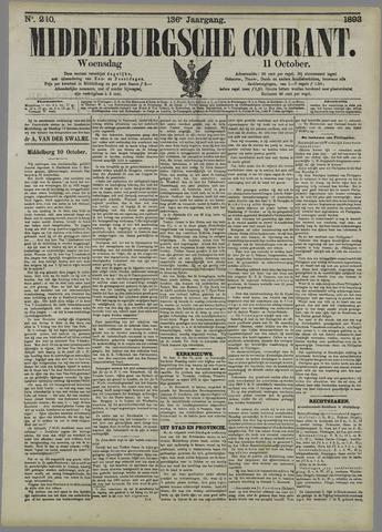 Middelburgsche Courant 1893-10-11