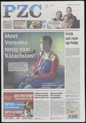 Provinciale Zeeuwse Courant 2014-05-31