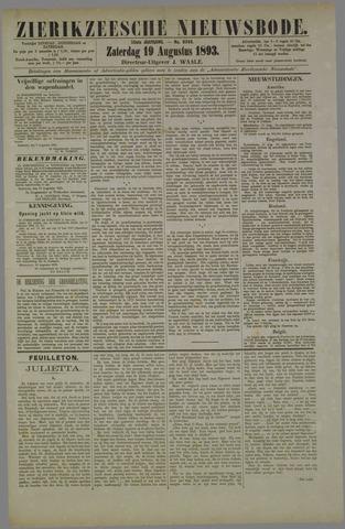 Zierikzeesche Nieuwsbode 1893-08-19