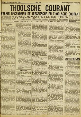 Ierseksche en Thoolsche Courant 1934-09-28