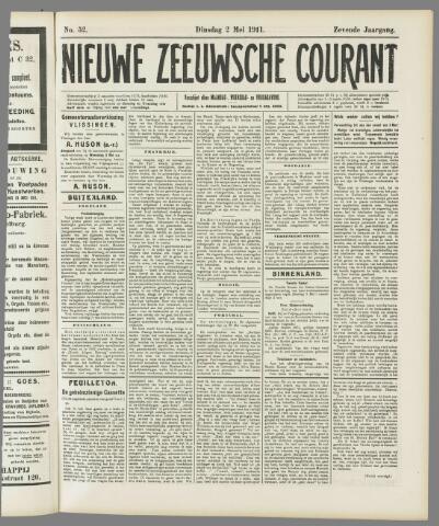 Nieuwe Zeeuwsche Courant 1911-05-02