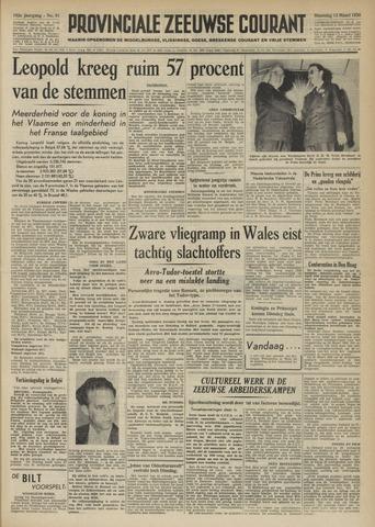 Provinciale Zeeuwse Courant 1950-03-13