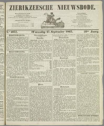 Zierikzeesche Nieuwsbode 1863-09-23