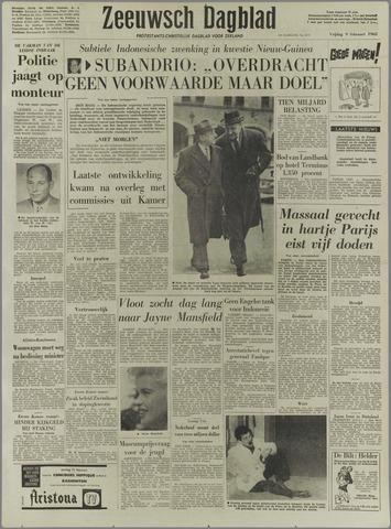 Zeeuwsch Dagblad 1962-02-09