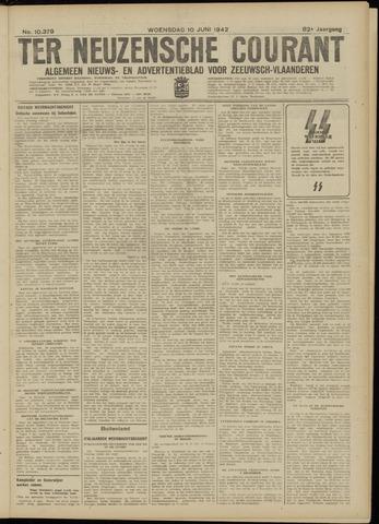Ter Neuzensche Courant. Algemeen Nieuws- en Advertentieblad voor Zeeuwsch-Vlaanderen / Neuzensche Courant ... (idem) / (Algemeen) nieuws en advertentieblad voor Zeeuwsch-Vlaanderen 1942-06-10