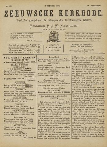 Zeeuwsche kerkbode, weekblad gewijd aan de belangen der gereformeerde kerken/ Zeeuwsch kerkblad 1889