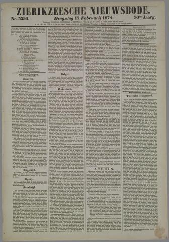 Zierikzeesche Nieuwsbode 1874-02-17