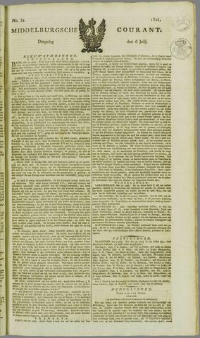 Middelburgsche Courant 1824-07-06