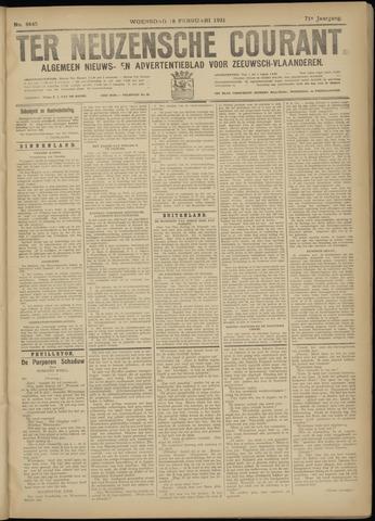 Ter Neuzensche Courant. Algemeen Nieuws- en Advertentieblad voor Zeeuwsch-Vlaanderen / Neuzensche Courant ... (idem) / (Algemeen) nieuws en advertentieblad voor Zeeuwsch-Vlaanderen 1931-02-18