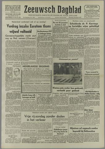 Zeeuwsch Dagblad 1957-01-28