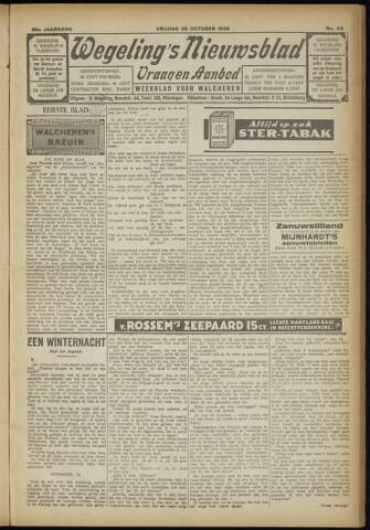Zeeuwsch Nieuwsblad/Wegeling's Nieuwsblad 1929-10-25