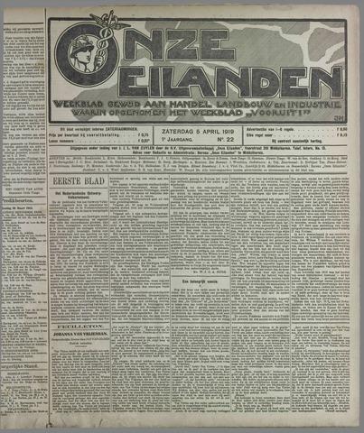 Onze Eilanden 1919-04-05