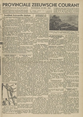 Provinciale Zeeuwse Courant 1943-12-23
