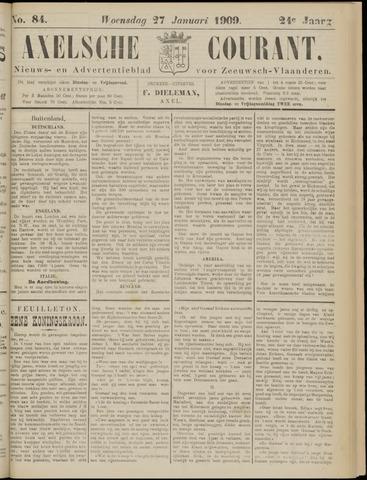Axelsche Courant 1909-01-27