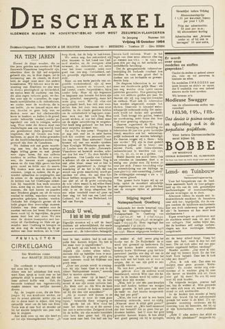 De Schakel 1954-10-15