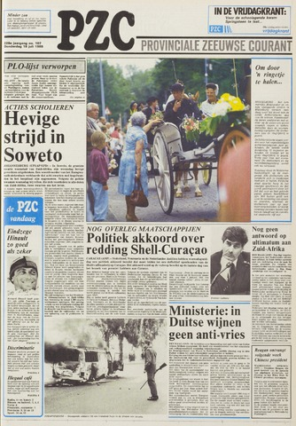 Provinciale Zeeuwse Courant 1985-07-18