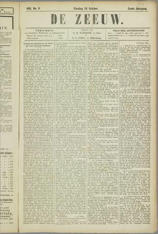 De Zeeuw. Christelijk-historisch nieuwsblad voor Zeeland 1891-10-20
