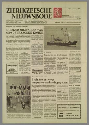 Zierikzeesche Nieuwsbode 1974-11-01