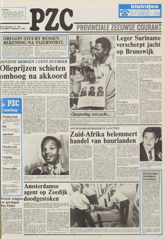Provinciale Zeeuwse Courant 1986-08-06